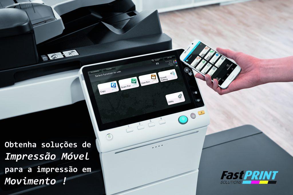 Soluções Develop para impressão móvel